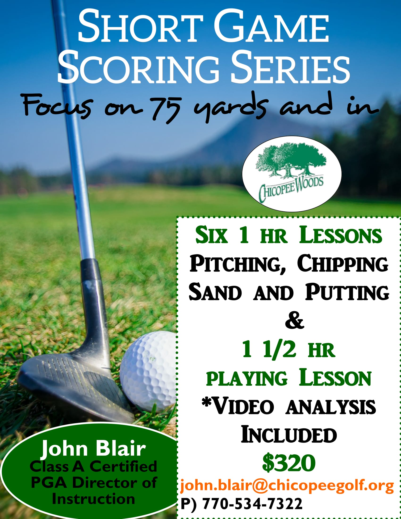 Shortgame Series-1