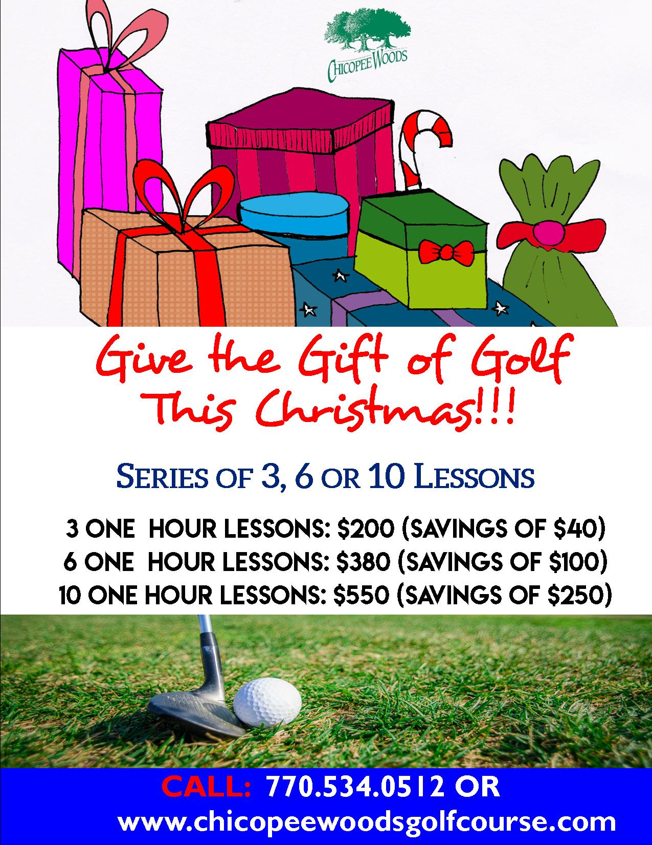 Holiday Gift of Golf_2018
