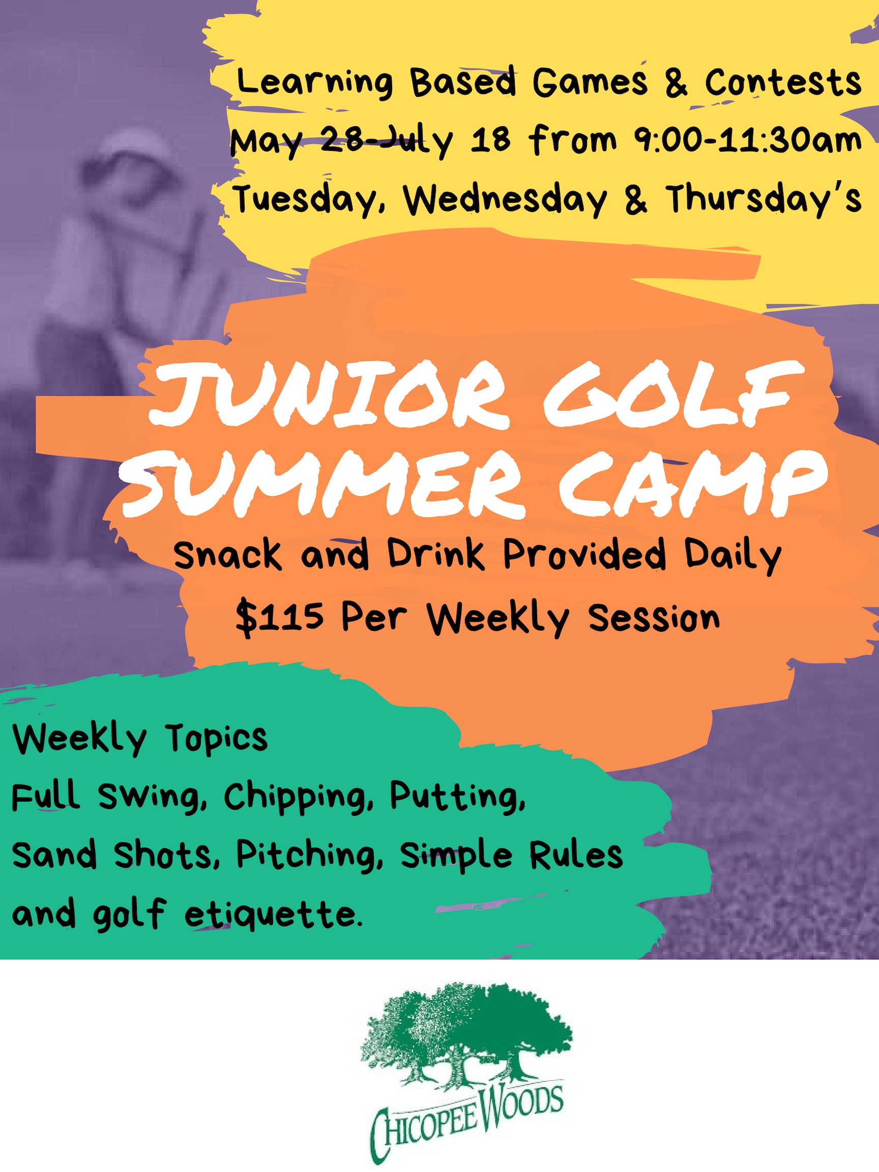 Summer Junior golf 2019